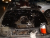 Clean Mazda RX-7 Engine Bay