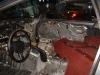 Gutted Mazda RX-7 Interior